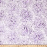 Blossom Batiks Splash Big Bloom Lilac