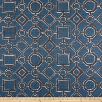Premier Prints Luxe Outdoor Brazil Slate Blue
