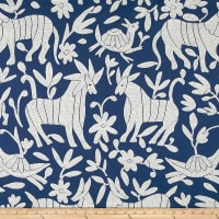 AMERICAN MADE Artistry Fiesta Otomi Inspired Jacquard Navy/White