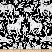 AMERICAN MADE Artistry Fiesta Otomi Inspired Jacquard Onyx/White