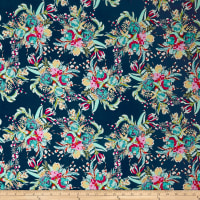 Art Gallery Coquet Bouquet Splendid Rayon Multi