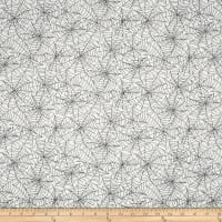 Kimberbell Designs Broomhilda's Bakery Spiderweb White Black