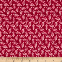 Maywood Studio The Little Things Variegated Leaves Red/Natural