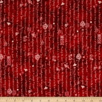 Maywood Studio The Little Things Little Sentiments Red/Natural