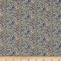 Liberty Fabrics Katie and Millie Sycamore Linen