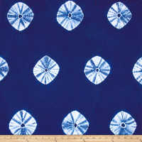 Wind Cave Tie Dye Circles Navy/White