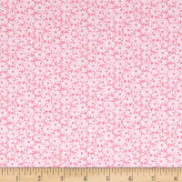 Nana Mae II 1930's Reproduction Daisies Pink