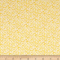 Nana Mae II 1930's Reproduction Daisies Yellow