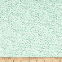 Nana Mae II 1930's Reproduction Daisies Green