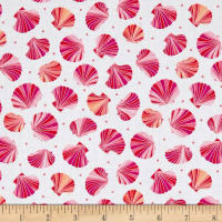 Just Beachy Mini Shells White/Pink