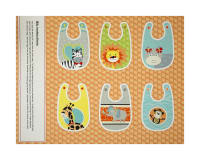 "Bungle Jungle 36"" Bib Panel Orange"