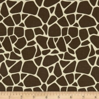 Bungle Jungle Giraffe Skin Brown/Cream
