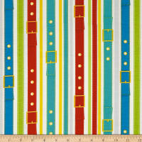 Dogs & Suds Dog Collar Stripe Multi