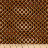 Pumpkin Farm Checkerboard Foulard Gold