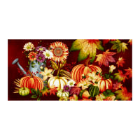 "Autumn Album 24"" Autumn Panel Cranberry"