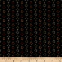 Kim Diehl Farmstead Hexi Stripe Ebony