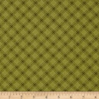 Kim Diehl Farmstead Ticking Stripe Plaid Pistachio