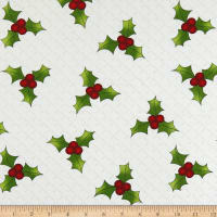 Ring In The Holly Days Large Holly Cream