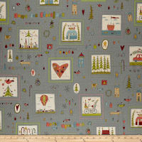 Home For Christmas Small Blocks Blue