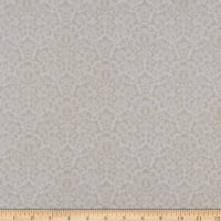 Gentle Garden Flannel Monotone Damask Cream