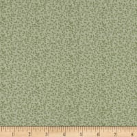 Gentle Garden Flannel Tender Vines Sage