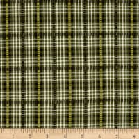 Believe Yarn Dye Dobbie Plaid Green