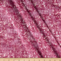 Pearl Luxe Lemongrass Weave Metallic Raspberry
