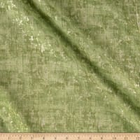 Pearl Luxe Lemongrass Weave Metallic Green