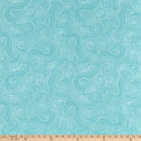 Just Color  Swirl Basic Light Teal