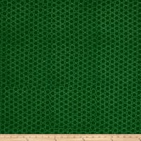 Modern Batiks Circles Dark Green