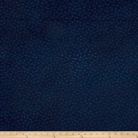 Modern Batiks Dots Dark Blue