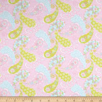 Comfy Flannel Prints Paisley Pink
