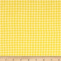 Yarn Dyed Flannel Check Yellow