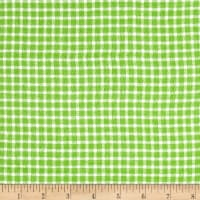 Yarn Dyed Flannel Check Green