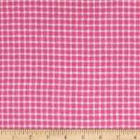 Yarn Dyed Flannel Check Pink