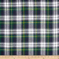 Yarn Dyed Flannel Plaid Blue/Green