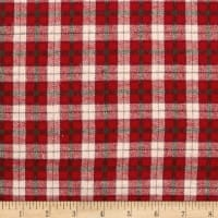 Yarn Dyed Flannel Plaid Red/Beige