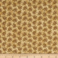 Chicks On The Run Tossed Jacobean Flower Tan