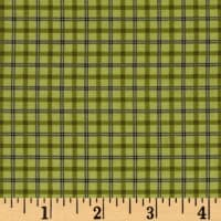 Modern Antiques Plaids Green