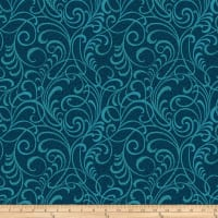 Here Comes The Sun Scrolls Squared Teal