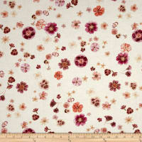Kanvas Floral Impressions  Pressed Flowers Cream