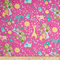 Contempo My Little Sunshine Animal Forest Pink