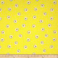 Kanvas Oops A Daisy Daisy Dot Yellow/White