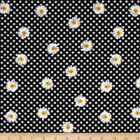 Kanvas Oops A Daisy Daisy Dot Black/White