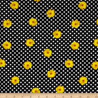 Kanvas Oops A Daisy Daisy Dot Black/Yellow