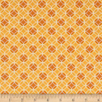 Bree Dot Circle Orange