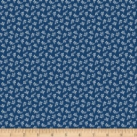 Benartex Bree Berry Dot Navy