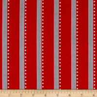 Bree Stripe Red