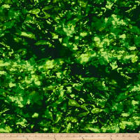 Color Flow Green Batik
