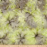 Bali Batiks Desert Valley Clouds Lime/Lavender